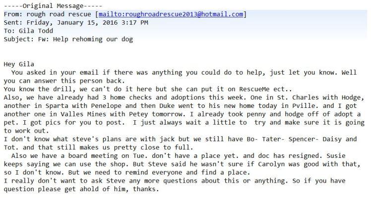 Linda email 01-15-16